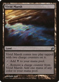 Vivid Marsh, Magic: The Gathering, Lorwyn