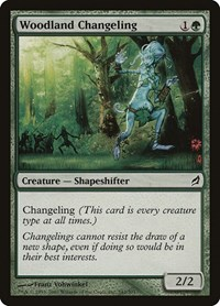 Woodland Changeling (Foil)