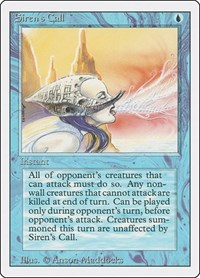 Siren's Call, Magic: The Gathering, Revised Edition