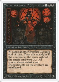 Sorceress Queen, Magic: The Gathering, Revised Edition