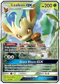 Leafeon GX, Pokemon, SM - Ultra Prism