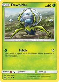 Dewpider, Pokemon, SM - Ultra Prism