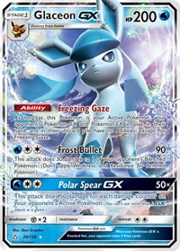 Glaceon GX, Pokemon, SM - Ultra Prism