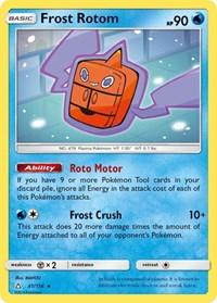 Frost Rotom, Pokemon, SM - Ultra Prism