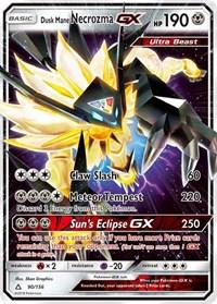 Dusk Mane Necrozma GX, Pokemon, SM - Ultra Prism