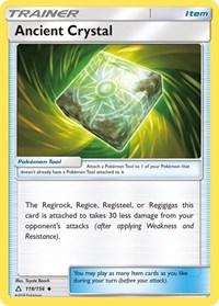 Ancient Crystal, Pokemon, SM - Ultra Prism