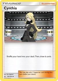 Cynthia, Pokemon, SM - Ultra Prism