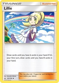 Lillie, Pokemon, SM - Ultra Prism
