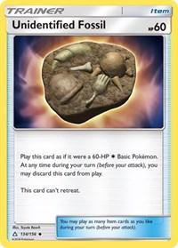 Unidentified Fossil, Pokemon, SM - Ultra Prism