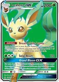 Leafeon GX (Full Art), Pokemon, SM - Ultra Prism