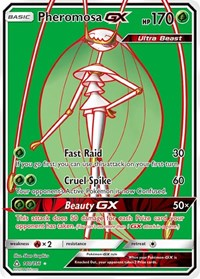 Pheromosa GX (Full Art), Pokemon, SM - Ultra Prism
