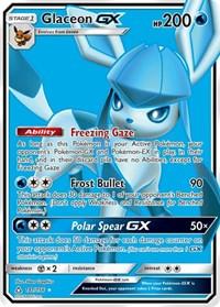 Glaceon GX (Full Art), Pokemon, SM - Ultra Prism