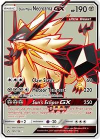 Dusk Mane Necrozma GX (Full Art), Pokemon, SM - Ultra Prism