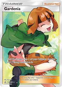 Gardenia (Full Art), Pokemon, SM - Ultra Prism