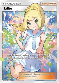 Lillie (Full Art), Pokemon, SM - Ultra Prism