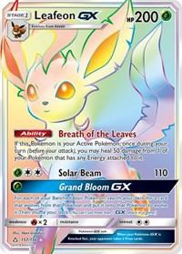 Leafeon GX (Secret Rare), Pokemon, SM - Ultra Prism