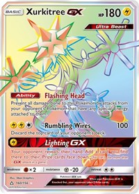 Xurkitree GX (Secret Rare), Pokemon, SM - Ultra Prism