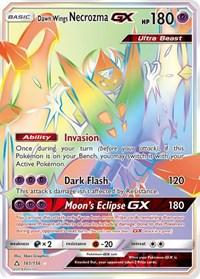 Dawn Wings Necrozma GX (Secret Rare), Pokemon, SM - Ultra Prism