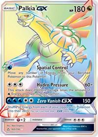 Palkia GX (Secret Rare), Pokemon, SM - Ultra Prism