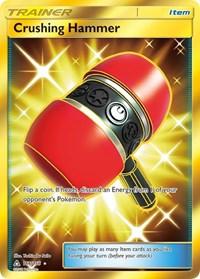 Crushing Hammer (Secret Rare), Pokemon, SM - Ultra Prism