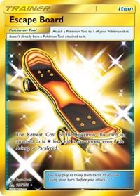 Escape Board (Secret Rare), Pokemon, SM - Ultra Prism