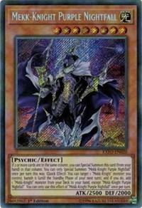 Mekk-Knight Purple Nightfall, YuGiOh, Extreme Force