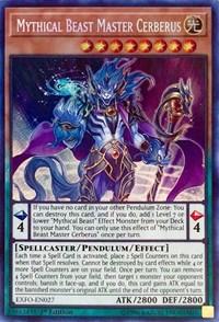 Mythical Beast Master Cerberus, YuGiOh, Extreme Force