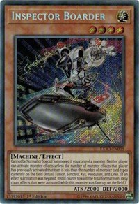 Inspector Boarder, YuGiOh, Extreme Force