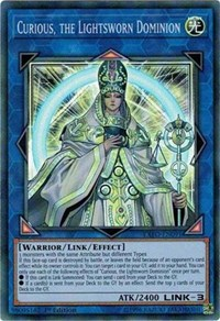 Curious, the Lightsworn Dominion, YuGiOh, Extreme Force