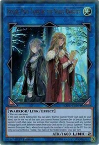Isolde, Two Tales of the Noble Knights, YuGiOh, Extreme Force