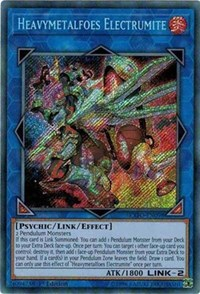 Heavymetalfoes Electrumite, YuGiOh, Extreme Force