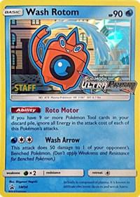 Wash Rotom - SM94 (Staff Prerelease Promo), Pokemon, SM Promos