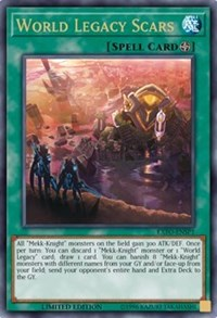 World Legacy Scars (Sneak Peek), YuGiOh, Extreme Force