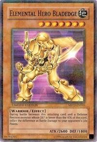 Elemental HERO Bladedge, YuGiOh, Mattel Action Figure Promos: Series 3