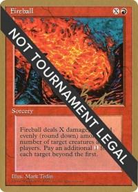 Fireball - 1996 George Baxter (4ED), Magic: The Gathering, World Championship Decks