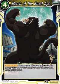 March of the Great Ape, Dragon Ball Super CCG, Cross Worlds