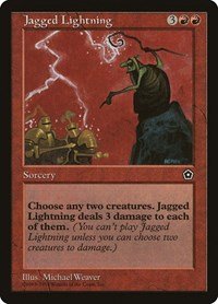 Jagged Lightning, Magic: The Gathering, Portal Second Age