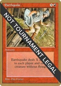 Earthquake - 1996 Mark Justice (4ED), Magic, World Championship Decks