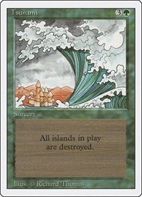 Tsunami, Magic: The Gathering, Revised Edition