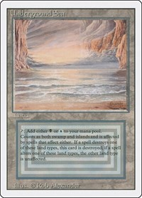 Underground Sea, Magic: The Gathering, Revised Edition