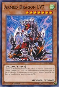 Armed Dragon LV7, YuGiOh, Legendary Duelists: Ancient Millennium