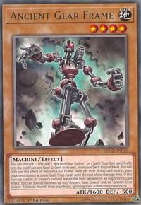 Ancient Gear Frame, YuGiOh, Legendary Duelists: Ancient Millennium