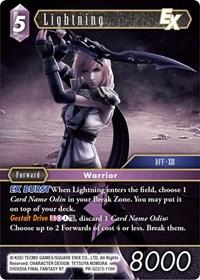 Lightning 10-101L Opus X Final Fantasy TCG
