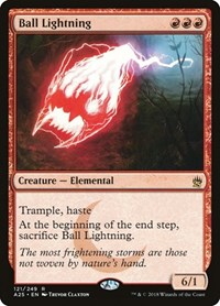 Ball Lightning, Magic, Masters 25