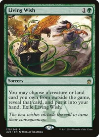 Living Wish, Magic: The Gathering, Masters 25