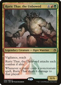 Ruric Thar, the Unbowed, Magic: The Gathering, Masters 25