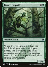 Fierce Empath, Magic: The Gathering, Masters 25