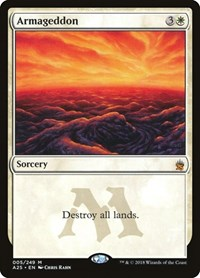 Armageddon, Magic: The Gathering, Masters 25