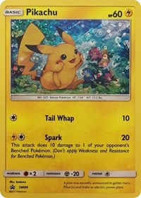 Pikachu - SM86 (General Mills Promo), Pokemon, Miscellaneous Cards & Products