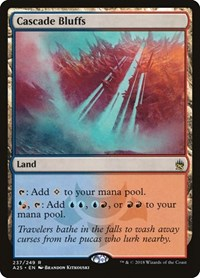 Cascade Bluffs, Magic: The Gathering, Masters 25